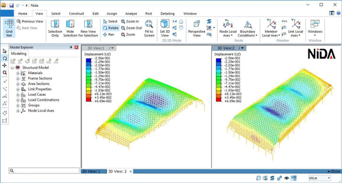 A refined finite element formulation for flexural and
